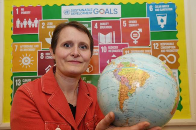 Dr Meryl Batchelder has become Northumberland's first United Nations-accredited climate change teacher.