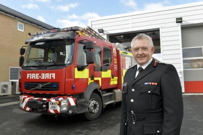 Northumberland Fire and Rescue chief officer Paul Hedley. Photo: Stuart Walker