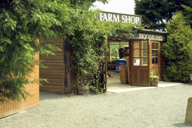 Brocksbushes Farm Shop D240432.