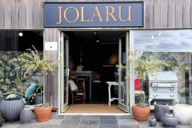 HX2918102 Jolaru. New business Jolaru, made up of Jo Harrison, Laura Addyman and Ruth Dance based at Vallum Farm on the military road. Business. TUESDAY 10TH JULY 2018. KATE BUCKINGHAM