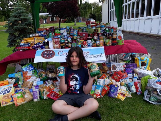 Corbridge Middle School pupil overwhelmed after plea to help