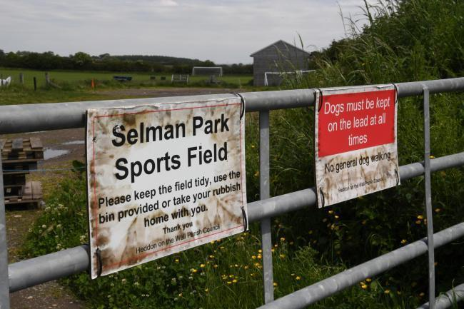 Selman Park, home of Heddon Juniors Football CLub.
