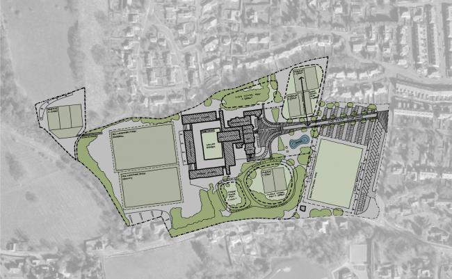 Plans for the two new schools in Hexham