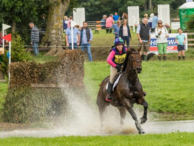 Laura Varty-Lindsay, of Longwitton, riding Quick Je Jaime at Burgham Horse Trials. Photo: JOHN AUSTIN