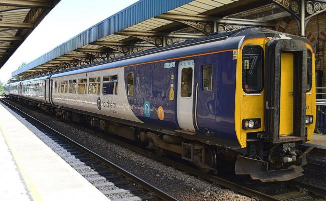NORTHERN: The rail operator has confirmed that services have resumed between Carlisle and Leeds after a landslip at Dent                 Picture: Northern Rail