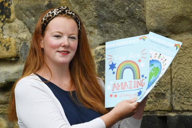Leanne MacDonald, who with Julie Brown has set up the My Mental Health Rocks scheme.                   Photo: HX321934