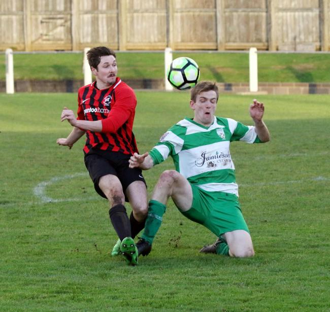 Last season's encounter between Prudhoe and Hexham. The two sides are now preparing for the new campaign.  Photo: PAUL NORRIS