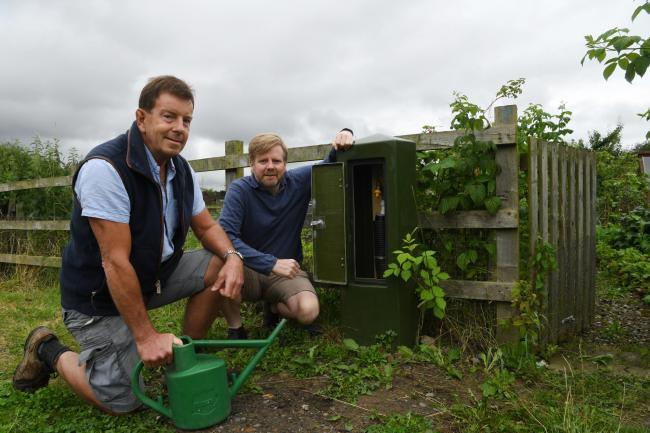 Water springs eternal for allotment holders