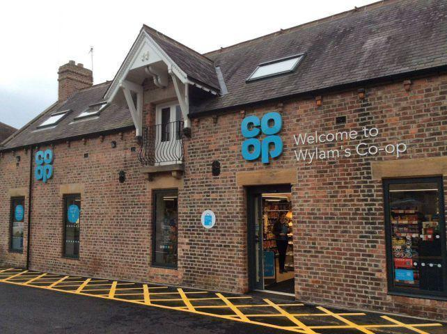 Wylam Co-op which was targeted by burglars in April.