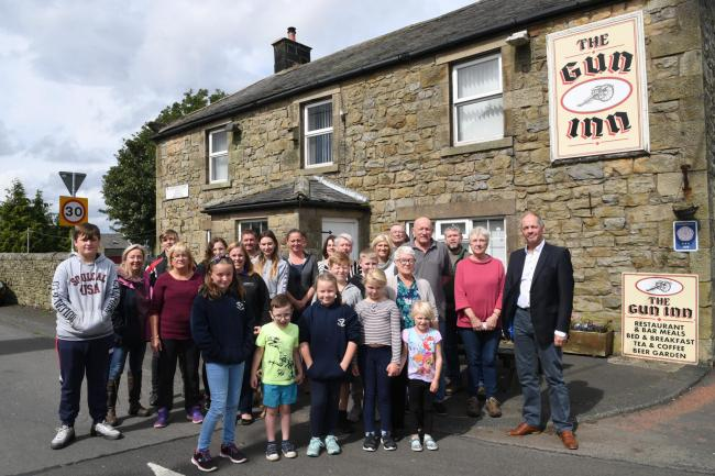 Local residents are fighting to save the Gun Inn at Ridsdale.  Photo: KATE BUCKINGHAM
