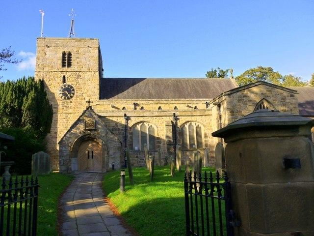 St Mary's Church in Ponteland. © Andrew Curtis