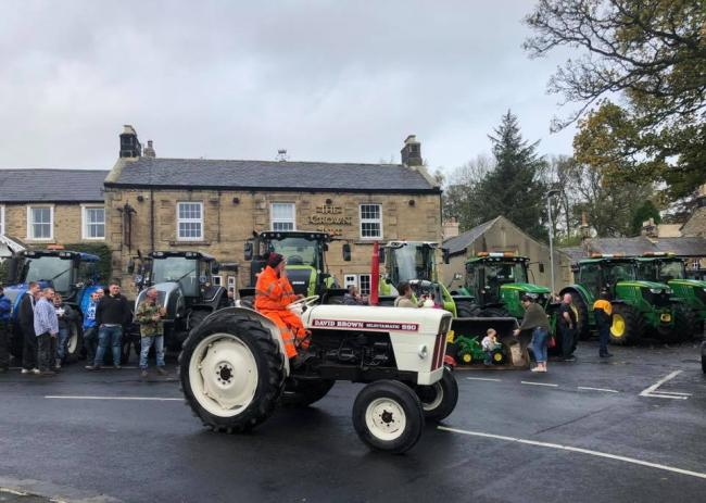 Tractor Day at The Crown Inn pub, Humshaugh.