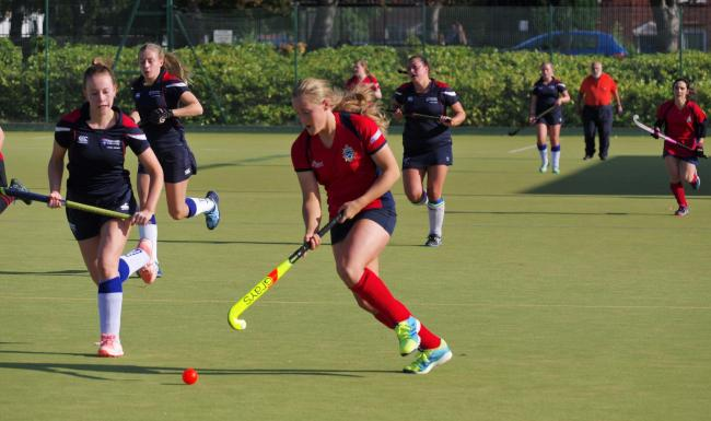 Tynedale Ladies' Lizzie Scott. Photo: Lisa Scott.