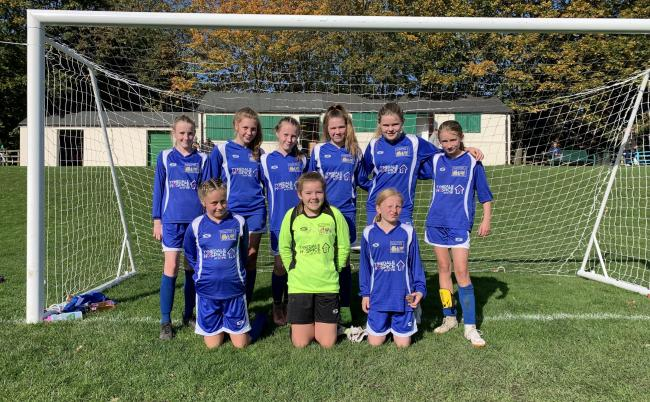Wylam Rockettes U13 Eagles.