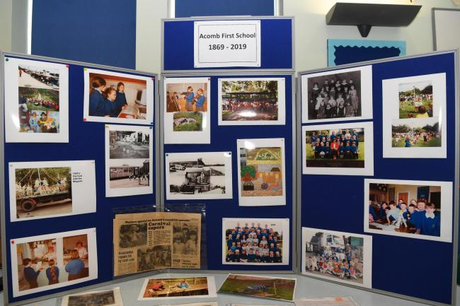 Acomb First Shcool celebrate their 150th anniversary. Photo: HX451905. KATE BUCKINGHAM.