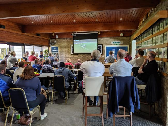 It was a tough day for rugby fans watching the World Cup final at Tynedale Rugby Club on Saturday.