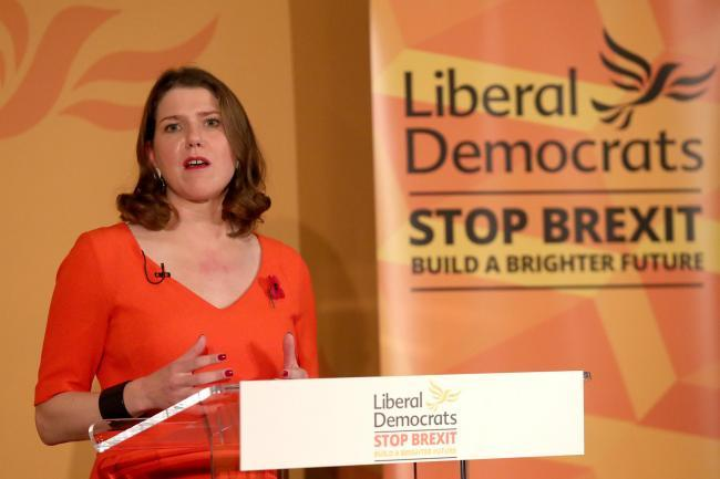 Jo Swinson, the leader of the Liberal Democrats.