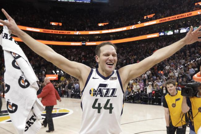 Utah Jazz forward Bojan Bogdanovic