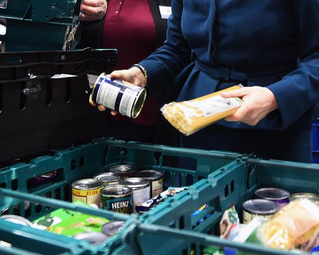 Food bank use has grown across Tynedale.
