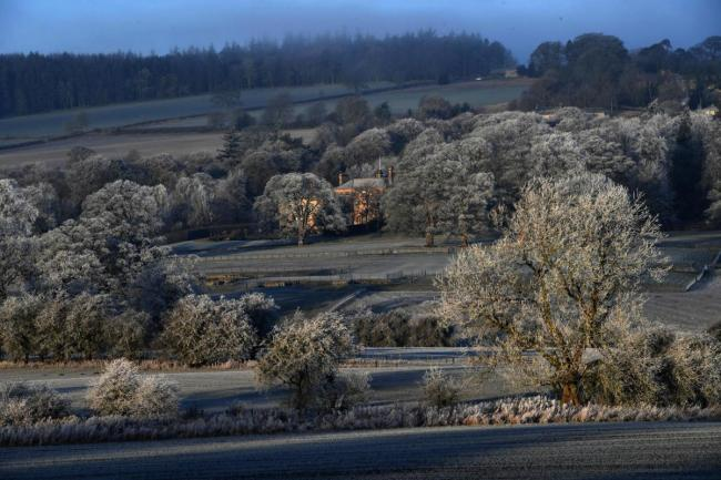 Tynedale records coldest temperature in England