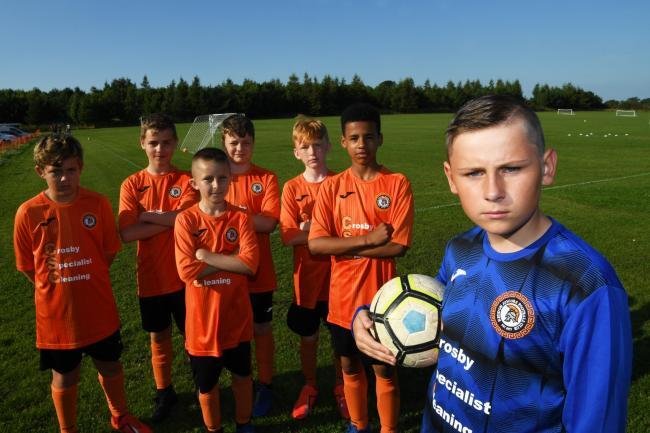 Heddon Juniors FC players are hoping a planning application will be approved to allow them to use playing fields in the village.