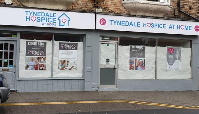 Tynedale Hospice at Home is opening a new store in Prudhoe.
