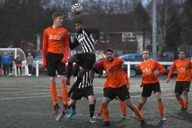 Lutfur Karim was in fine scoring form for Ponteland United Reserves.