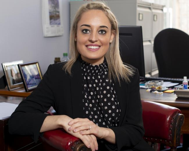 Alice Whittome has joined Cartmell Shepherd solicitors' 30-strong private client team and is based at the firm's Haltwhistle office. Photo: submitted on December 16, 2019