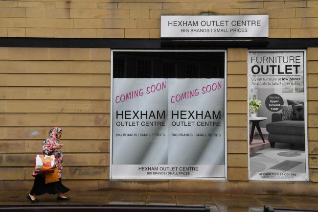 Hexham Outlet Centre, formerly Beales, on Fore Street.