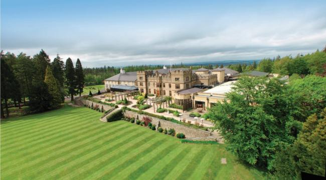Slaley Hall has been voted the best golf hotel and resort in the north.