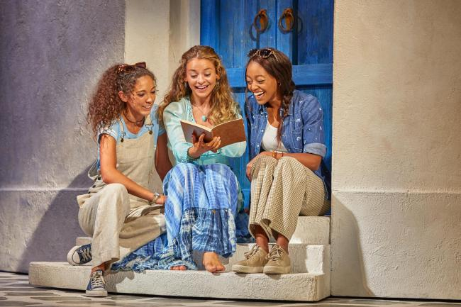 Mamma Mia is currently at Newcastle's Theatre Royal. 					             Photo: MAMMA MIA UK TOUR 2019/21