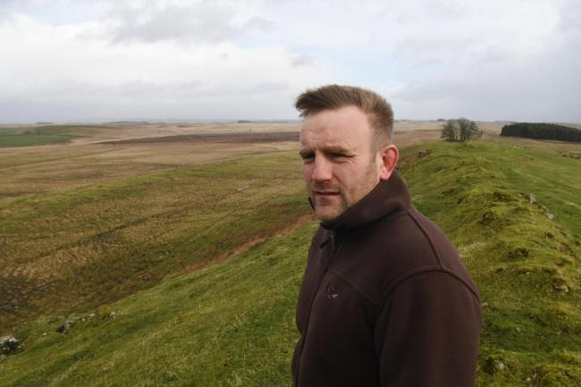 Farmer Jamie Murray is concerned at what the reductions in payments will mean.