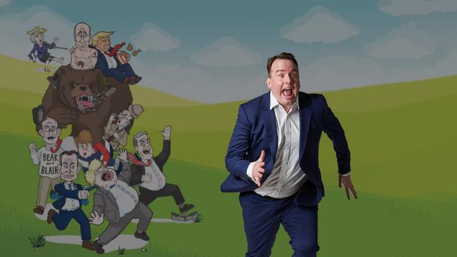 Political comedian Matt Forde will bring his new show, Brexit, Pursued by a Bear, to the North-East, including the Queen's Hall in Hexham.