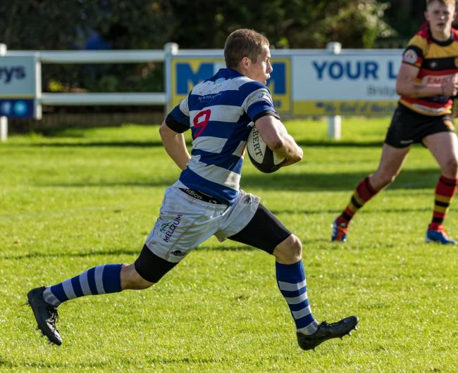 Scrum half John Clarkson had an influential impact for Tynedale Raiders in their 27-10  win over Percy Park Lions.                                                                                                    	         Photo: JOHN AUSTIN