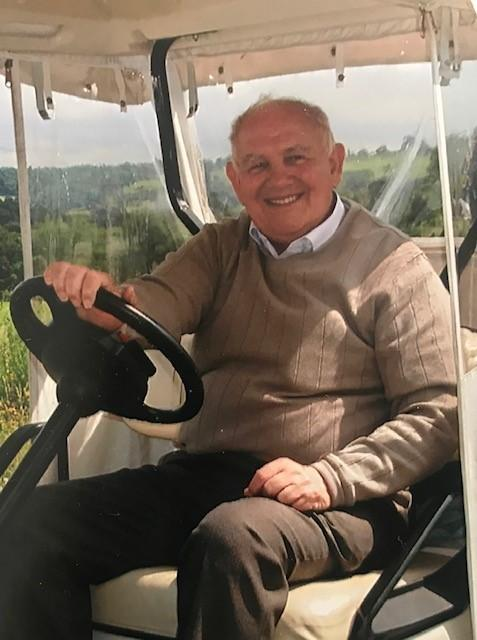 Kenneth Robson was an inspiration to young golfers in Prudhoe.