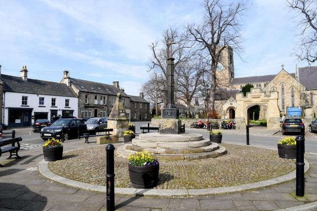Corbridge has been voted one of the best places to live in the UK. Photo: HX122001. KATE BUCKINGHAM.