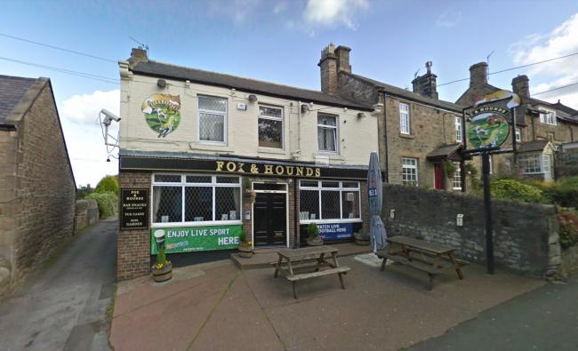 The Fox and Hounds pub in Prudhoe. © Google 2020.
