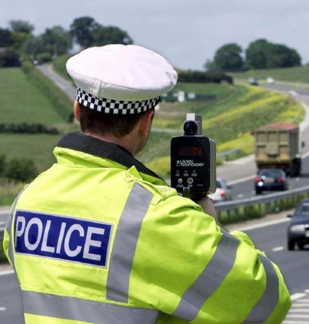 Plea: You are likely to be prosected if you are caught speeding