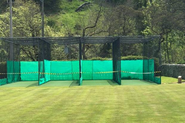 The netting facilities at Allendale Cricket Club remain closed until further notice despite ECB guidelines.