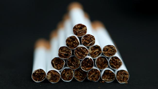 Menthol cigarettes are now banned in the UK. Picture: PA Wire