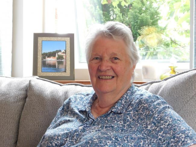 Pam Norton takes part in Tynedale Hospice at Home's Light up a Life each year in memory of her husband Ken.