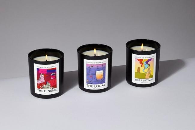 The Scents of Normality candles