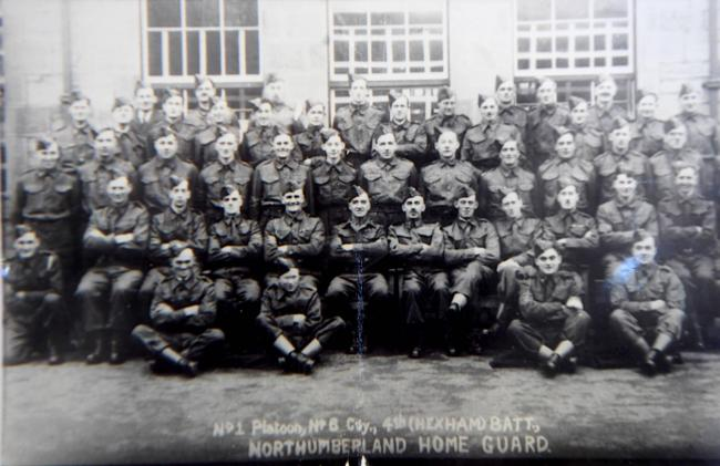 Northumberland Home Guard, 4th Hexham Battalion.