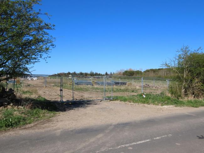 The temporary access at Heathergate Country Park, which the Planning Inspectorate has refused to allow to remain for an additional 12 months.