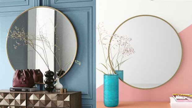 Hexham Courant: A bigger, more modern mirror will create the illusion of more space. Credit: Wayfair