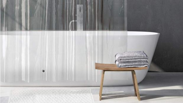 Hexham Courant: A clean shower liner will make your bathroom much more welcoming. Credit: Amazon