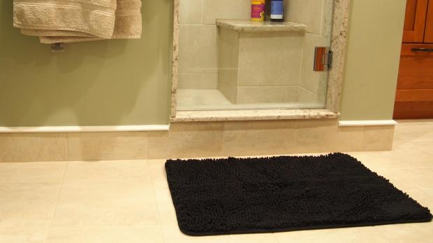 Hexham Courant: A stylish bath mat can brighten up your space. Credit: Reviewed / Kori Perten