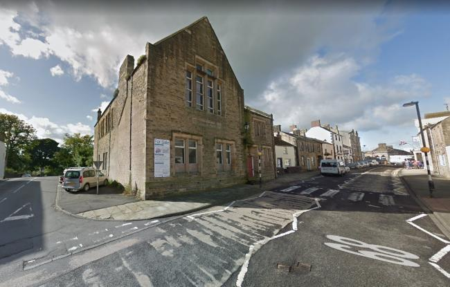 Haltwhistle Church Hall on Main Street looks set for a renovation.