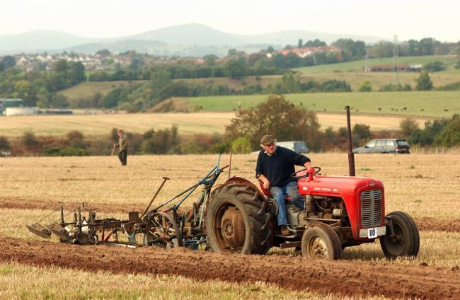 British National Ploughing Championships and Country Festival at Brougham, Penrith.