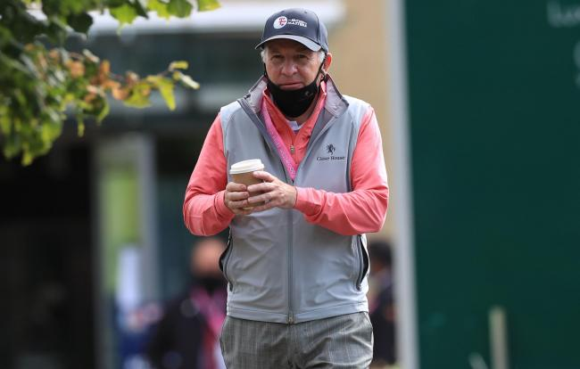 Course owner Graham Wylie during day four of the Betfred British Masters. Photo: Mike Egerton/ PA Wire.